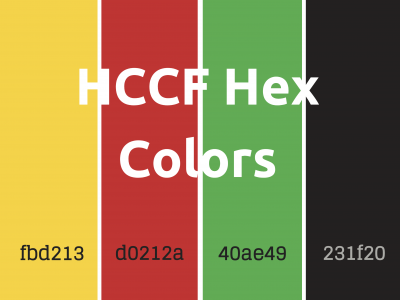 HCCF Hex Numbers Color Scheme