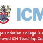 HCC Approved ICM Teaching Center